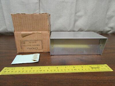 Bud Sc-3032 Cowl-type Minibox Electronics Project Box 3x8x5 New