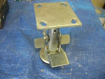 New Albion 71lf0680 Floor Lock 6 Diam Caster Wheel 7-12 Height 71 Series