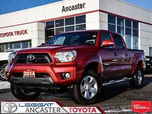 2014 Toyota Tacoma TRD DOUBLE CAB V6 4X4 ONLY 55689 KMS!!