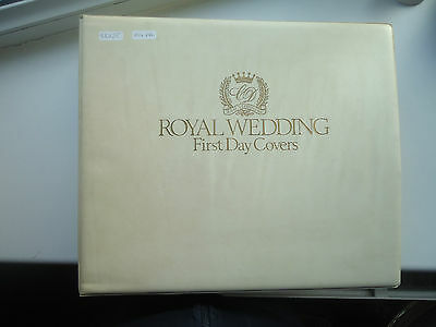 The Sumner Collection Royal Wedding 1981 100+ First Day Covers