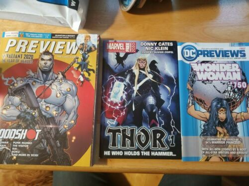 Previews Comic Shop Catalog #374 November 2019