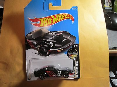 2017 HOT WHEELS  Q  CASE NEW RELEASE  # 357 /365 NISSAN FAIRLADY Z  BLACK