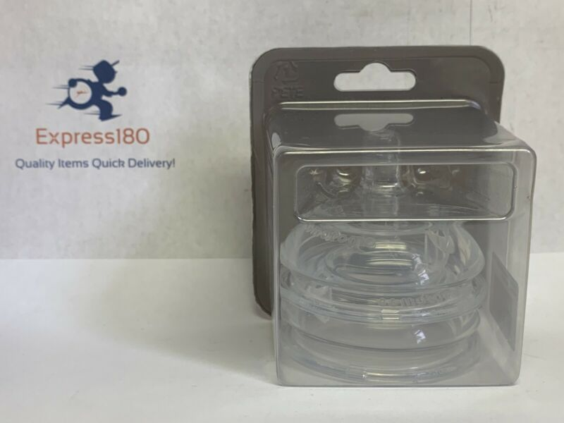 (ER) 1 Packs Of 2 Comotomo Replacement Nipples in Slow Flow Ages 0-3 Months