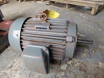 Teco 10 Hp Electric Motor 230460v 3470 Rpm 215t Aeeajm Repaired