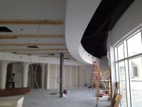 Drywall finisher,taping,plastering,installation