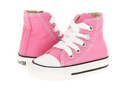 Toddler Converse Chuck Taylor All Star Color Pink 100% Original 7J234 Brand New