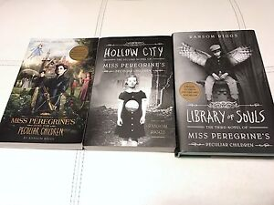 Miss Peregrine's Home for Peculiar Children Book Set