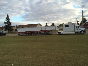 44' race car trailer and truck