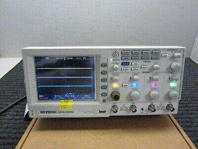 Gw Instek Gds-2204a 200mhz 2 Gsas 4-channel Digital Storage Oscilloscope