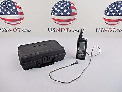 Stresstel T-mike El Thickness Gage Ultrasonic Flaw Detector Ndt Olympus Ge