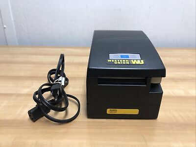 Citizen Ct-s2000 Label Thermal Black Printer Used And Works
