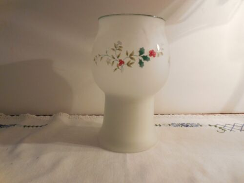 Pfaltzgraff Winterberry Frosted Floating Candle - 1998 - NIB