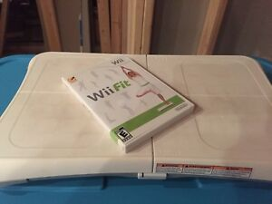 Wii balance/plank board and game