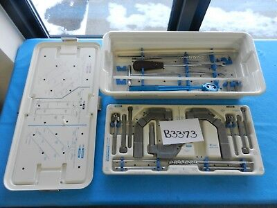 Zimmer Surgical Orthopedic Femoral Tibial Humeral Instrument Set W Case