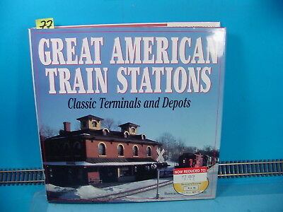 RS77 GREAT AMERICAN TRAIN STATIONS CLASSIC TERMINALS & DEPOTS BY HALBERSTADT