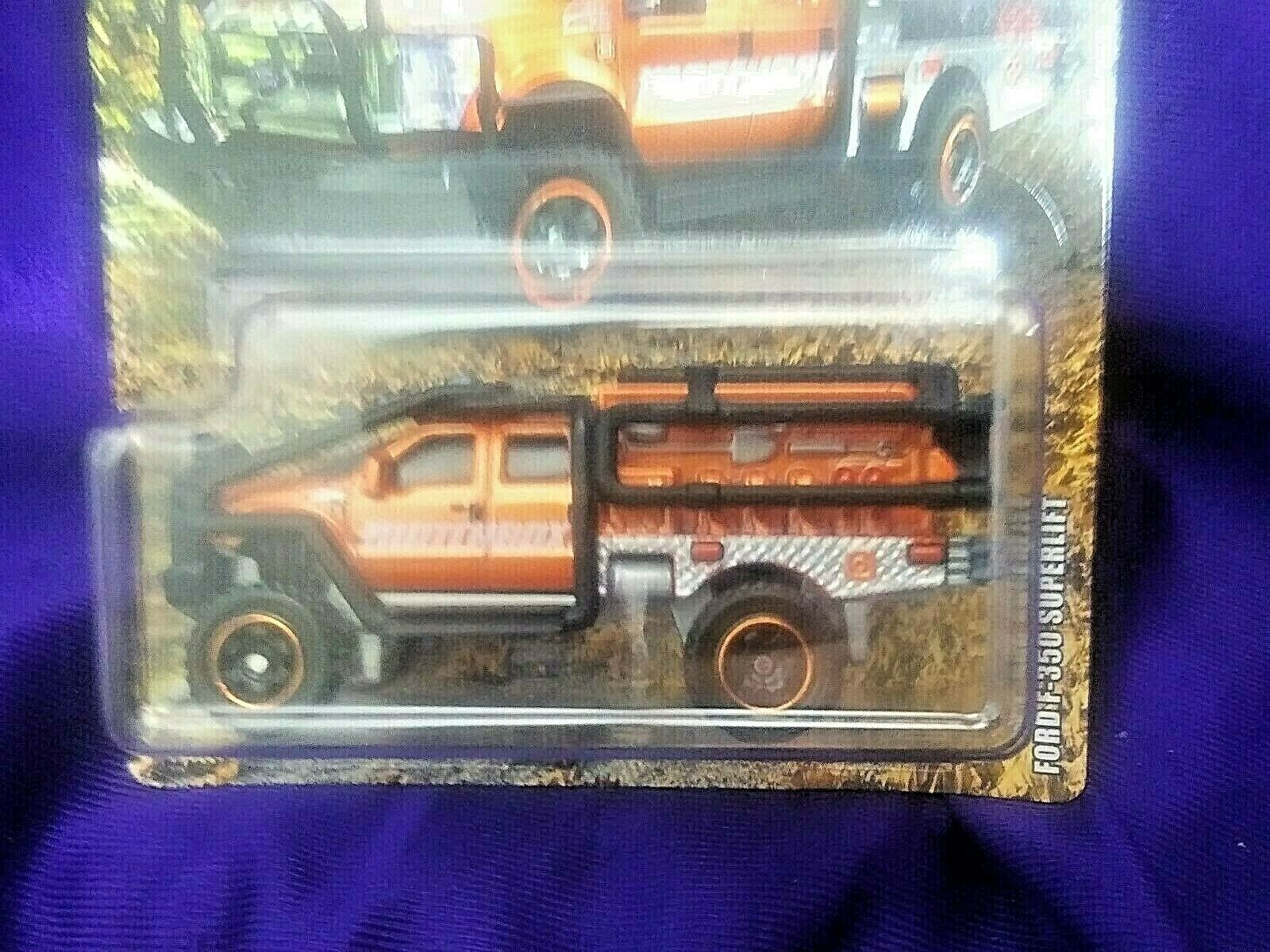 Matchbox Ford F-350 Superlift Truck Diecast 1:64 Scale Ford Series Mattel Boys 1