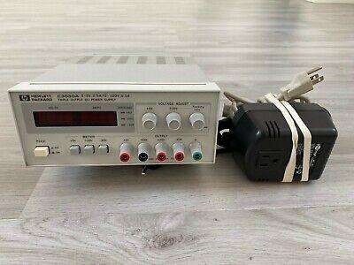 HP/ Agilent / Keysight E3630A Triple output power supply