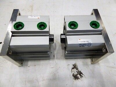 Smc Compact Cylinder Ncq2g50-25d Lot Of 2 New