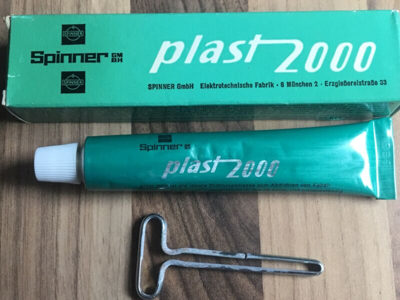 !! Antenna Feed Point, RF connector & Coax Sealer Plast 2000 Superb Product.NATO
