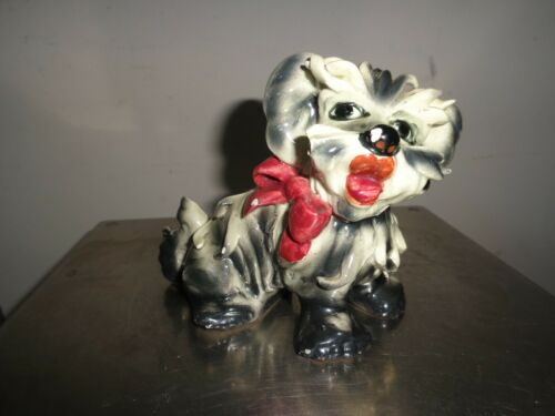 Vintage  Westie Dog Figurine  Made in Italy