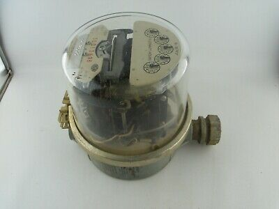 Sangamo Electric Company Watthour Power Meter Type Se Steampunk