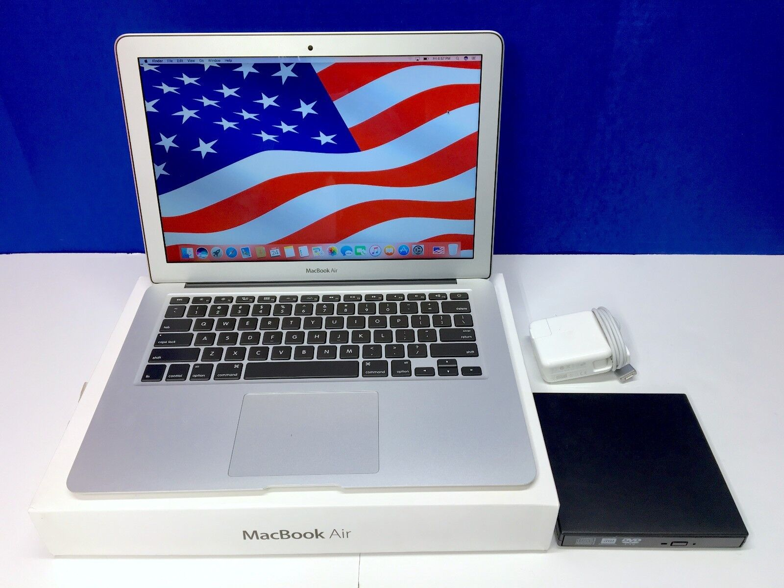 Apple 13in MacBook Air Core i7 OSX-2017 / 256GB+ Storage / 3 Year Warranty