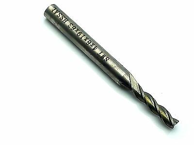Us Stock 3x Extra Long 4mm Three 3 Flute Hss Aluminium End Mill Cutter Cnc Bit
