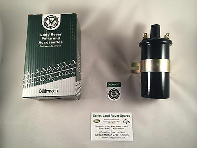 Bearmach Land Rover Series 2 & 3 12v Ignition Coil - 4 Cyl 2¼ Petrol Only BE0615