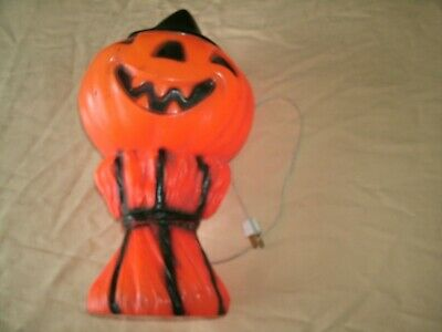 Halloween Empire Blow Mold Vintage 1960s Jack O Lantern JOL 1969 decoration rare