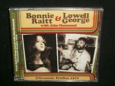 Lowell George & Bonnie Raitt - Ultrasonic Studios, 1972 CD SEALED NY broadcast