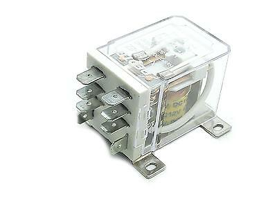 Us Stock Jqx-12f 2z Dc 12v 30a Dpdt General Purpose Power Relay 8 Pin
