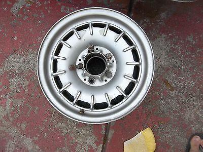 "71-85 Mercedes factory BUNDT rim 14"" X 6.5""  alloy #3884 w/dust shield & 4 lugs"