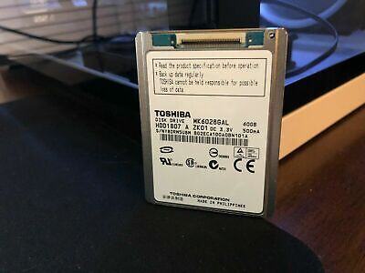 "1.8"" 60GB Hard Drive MK6028GAL HDD1807 for iPod Classic Video MacBook Air A1237"
