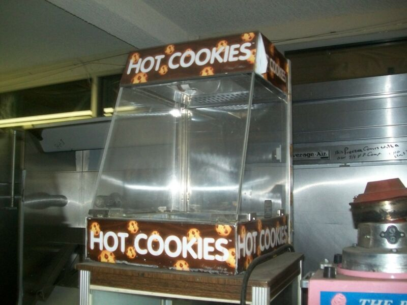FOOD WARMER/MERCHANDISER, FORCED AIR, C/TOP. 115 V, COOKIES,900 ITEMS ON E BAY