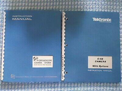 Tektronix Manuals Camera Curve-tracer Dig.delay Dig.multimeter Generator