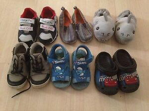 Infant size 7 shoes. 6 pairs Wembley Downs Stirling Area Preview
