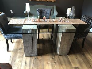 REDUCED - Dining Table - Refined Rustic