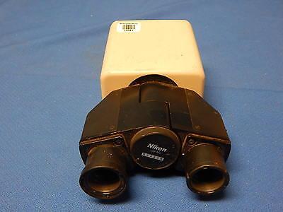 Nikon Binocular Head For Labophot Optiphot Metaphot Alphaphot Microscope