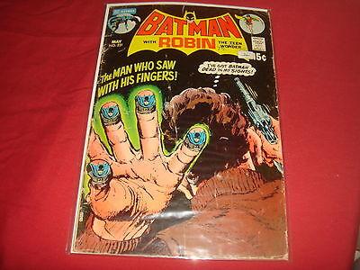 BATMAN #231  Neal Adams classic cover DC Comics 1971  G