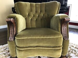 Antique arm chairs -two