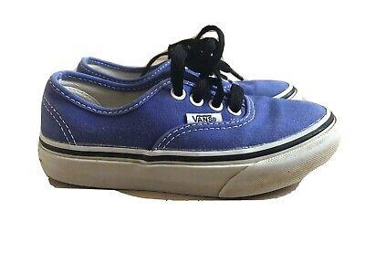 Vans Purple Children Trainers Infant Shoes Size 10UK 27eu Comfy VGC