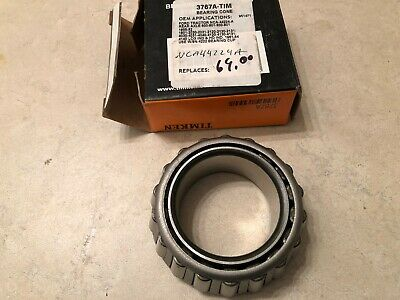 Nca44224a 3767a New Ford Tractor Rear Axle Shaft Bearing Cone 600 2120 800 4120