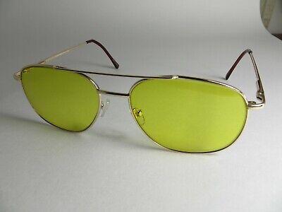 Aviatar  Shooting Glasses  Hi-CON Yellow Skeet/Trap/Target Yellow Gold Frame (Target Glasses Frames)