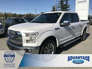 2017 Ford F-150 Lariat One Owner - Leather Seats