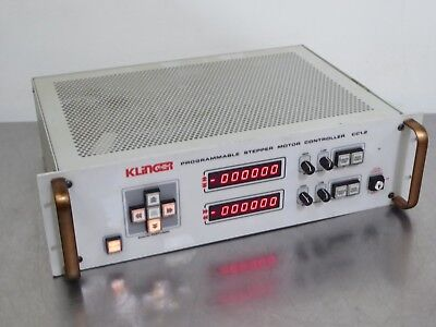 T154265 Klinger Scientific Cc1.2 Programmable Stepper Motor Controller