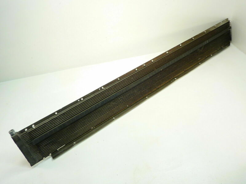 98 Skidoo Formula 500 Deluxe LH Radiator / Cooling Rail Cooler Left Side Tunnel