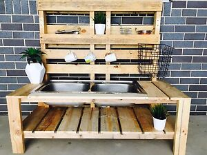 Custom made Pallet mudkitchen Crace Gungahlin Area Preview