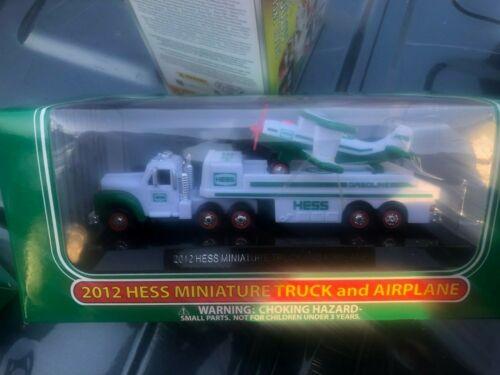 2012 Hess Miniature Truck and Airplane - Mint-in-Box - 2012 Hess Mini
