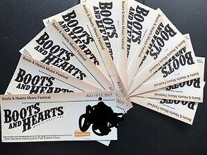 Boots and Hearts tickets -240