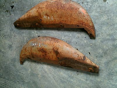 Allis Chalmers B Ib Tractor Ac Rear Pairset Clamshell Fender Fenders Clam Shell